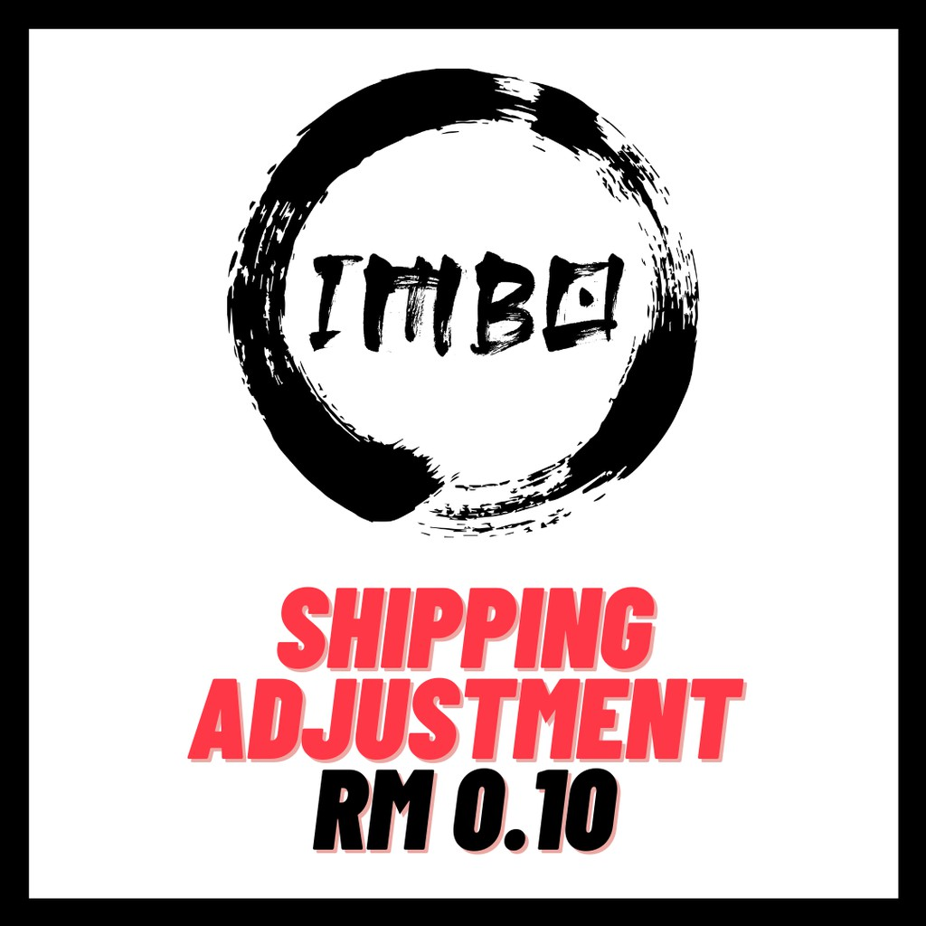 RM0.10 Courier Shipping Fee Adjustment