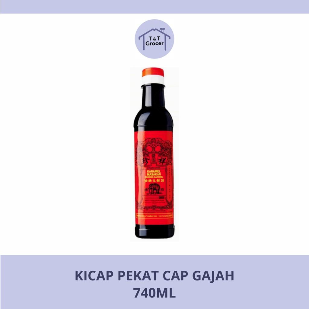 Kicap Pekat Cap Gajah (740ml)