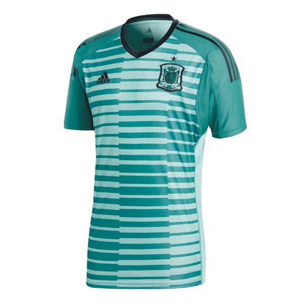 Spain Men Home Goalkeeper World Cup 2018 Fans Issue Jersey