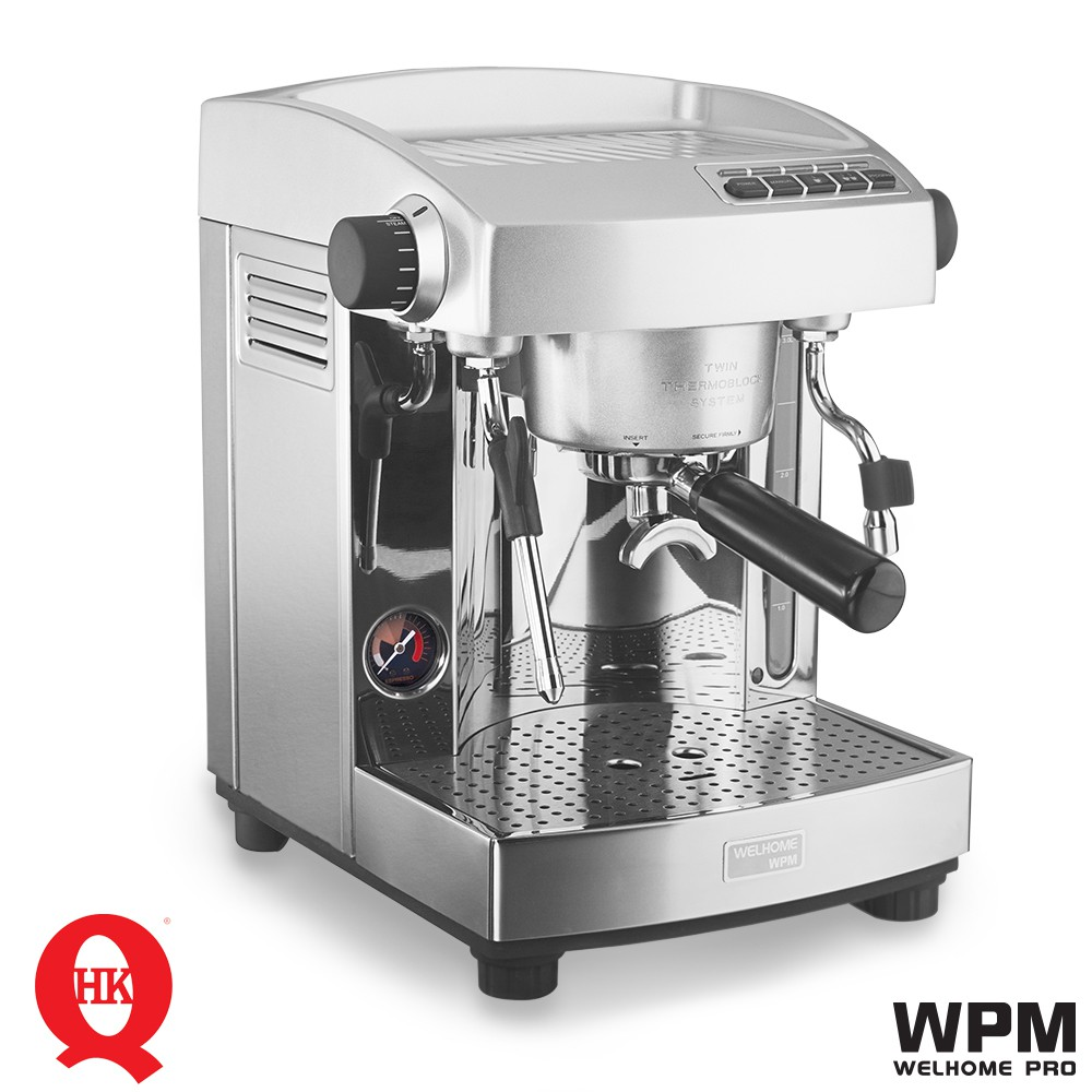Wpm Welhome Kd 210s2 Twins Thermo Block Espresso Machine Shopee Zd 10 Coffee Grinder Conical Burr With Timer Black Malaysia
