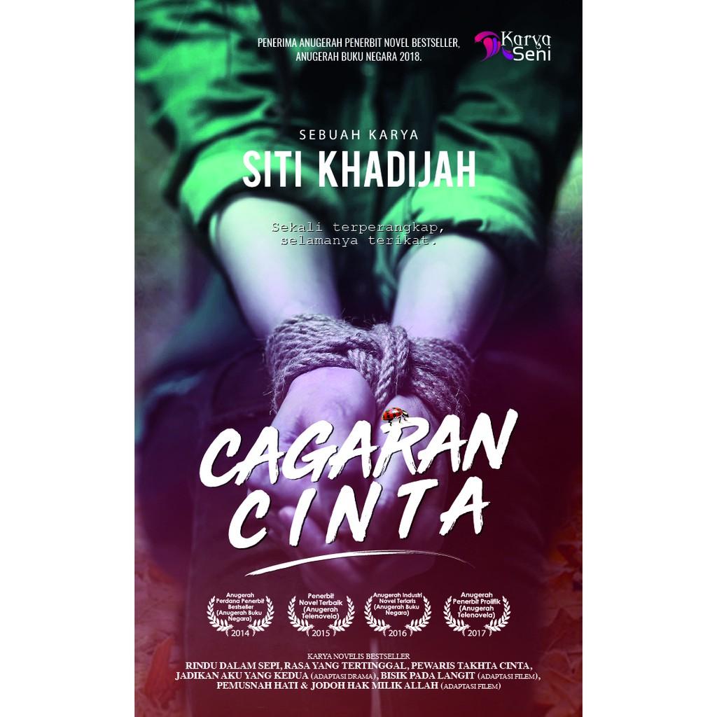 Novel Cagaran Cinta Penulis Siti Khatijah Penerbit Karyaseni Shopee Malaysia