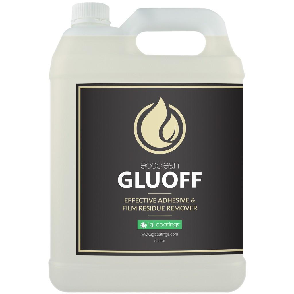 IGL Coatings Ecoclean Gluoff Super Effective Car Adhesive Sticker Dry Glue Remover Spray (5L)