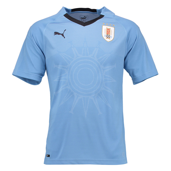 Uruguay Men Home World Cup 2018 Fans Issue Jersey