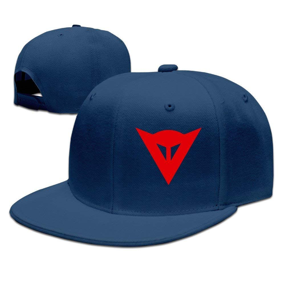 f2daccb85 Huseki Dainese Logo Adjustable Snapback Caps Baseball Flat Hat Navy