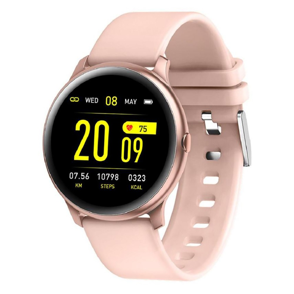 Ready Stock Kw19 Women Smart Watch Waterproof Blood Oxygen Heart Rate Monitor Men Sport Smartwatch For Ios And Android Shopee Malaysia