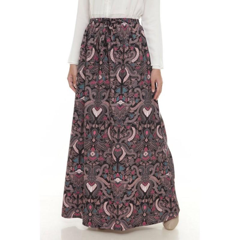 Skirt Batik Muslimah (Ironless)