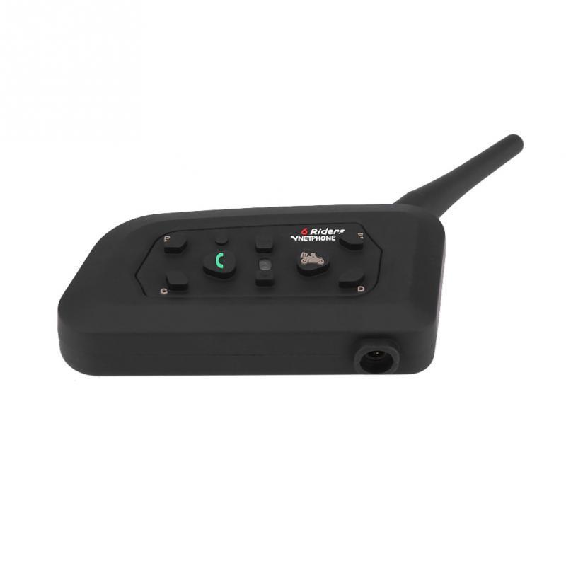 VNETPHONE Bluetooth Interphone Intercom Headset Headphone V6C 1200M 6 Users