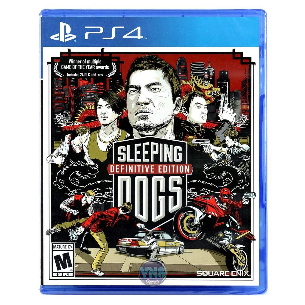 Sleeping Dogs Definitive Edition- PlayStation 4