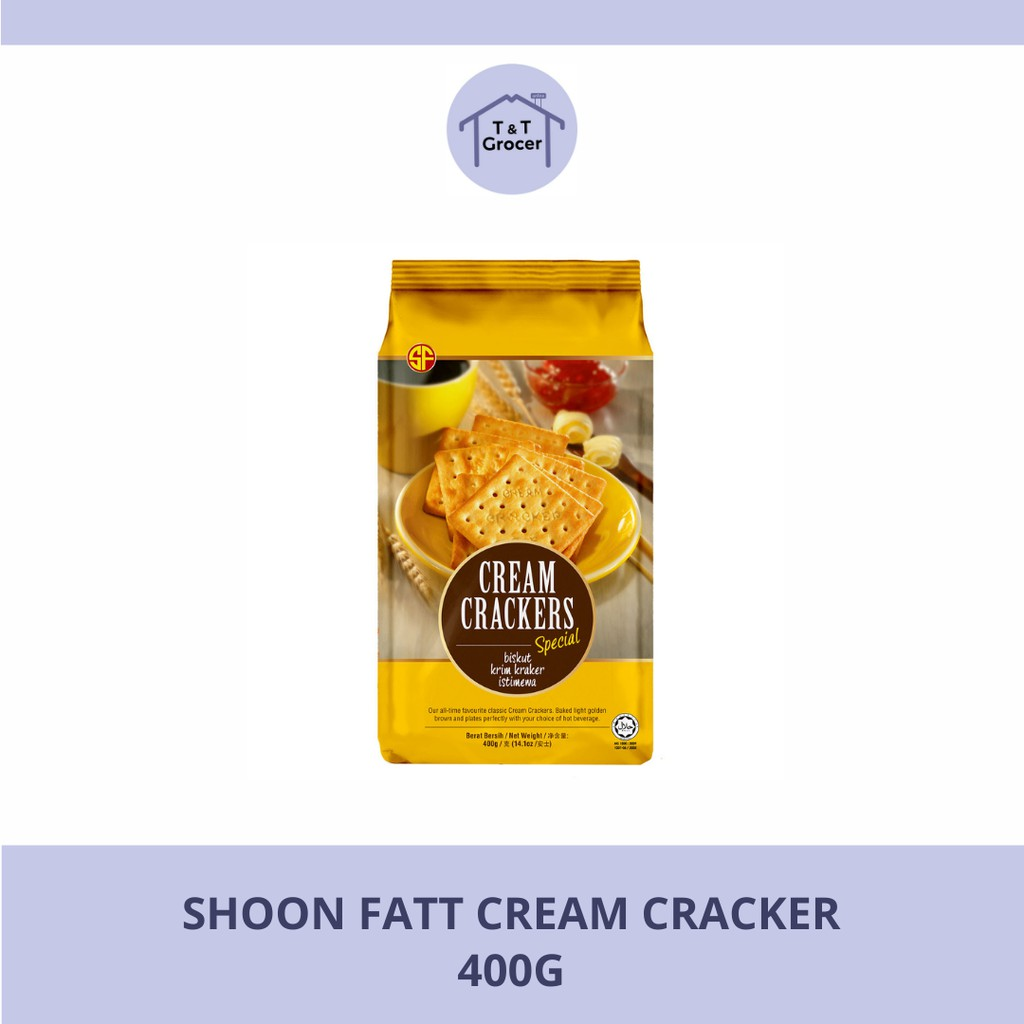 Shoon Fatt Biscuit Cream Cracker 400g <Wholesale>