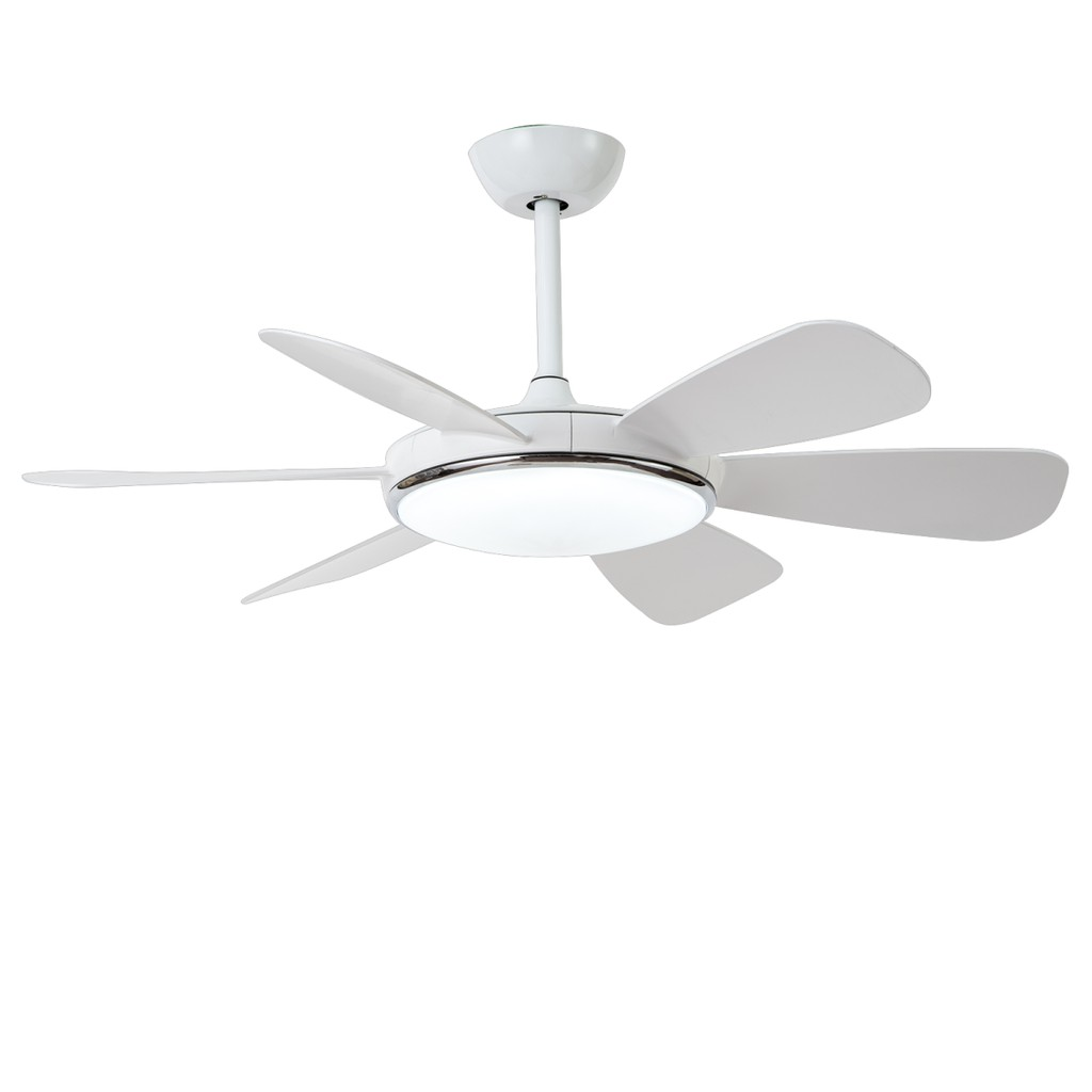 Image of: Modern Ceiling Fan 42 Inches 36w Led Ceiling Fans Light With Remote Control Shopee Malaysia