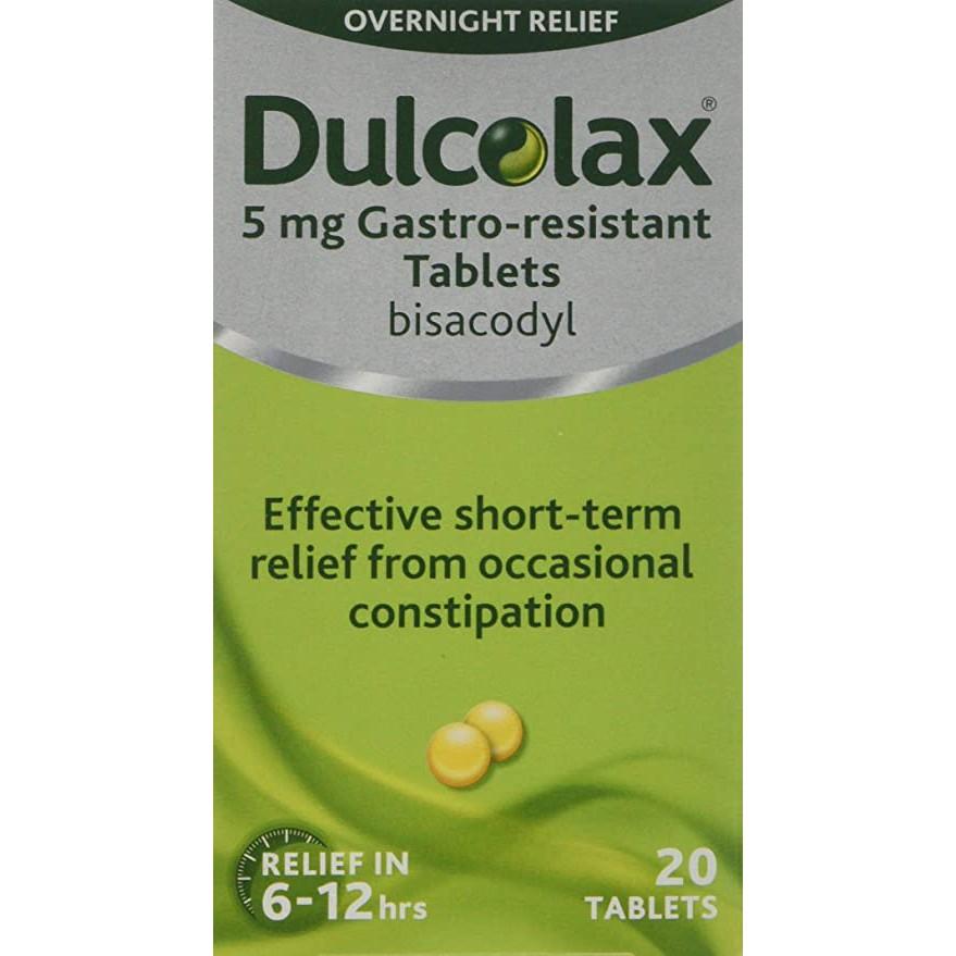 Dulcolax tab 20\'s (Bisacodyl 5mg)
