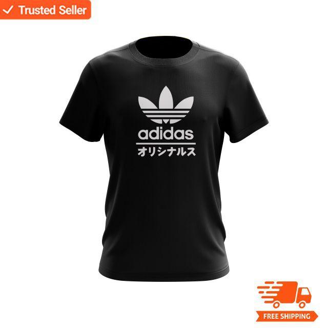sportskor bästa online populärt varumärke Adidas japan cotton T-shirt short-sleeve tee causal tops | Shopee ...