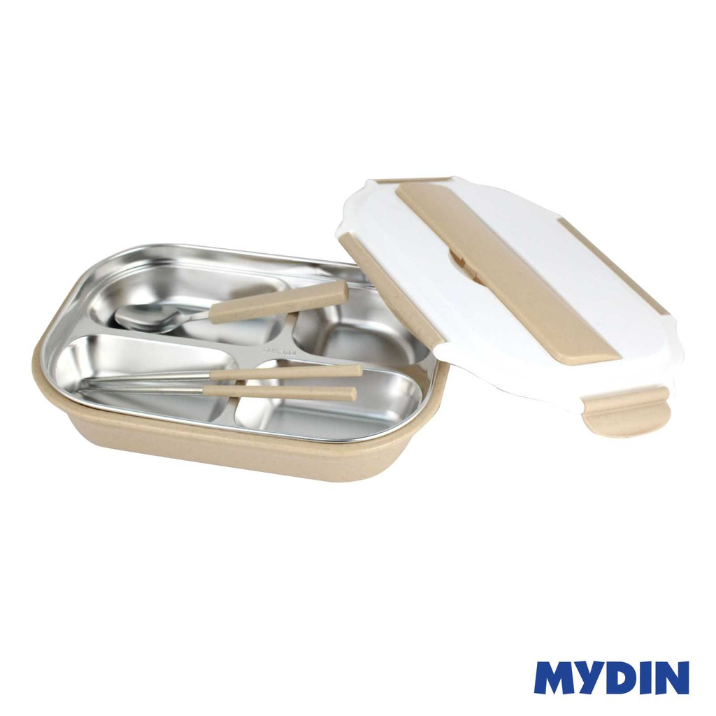 Mydin Stainless Steel Lunch Box 304