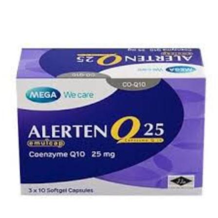 Allerten Q20 Coenzyme Q10 25mg