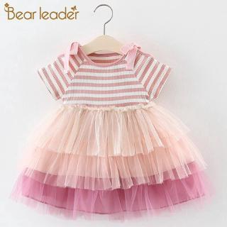 b5c156c03 Bear Leader Summer Cute Princess Girl Shirt + Gauze Dress+bag 3PCS ...