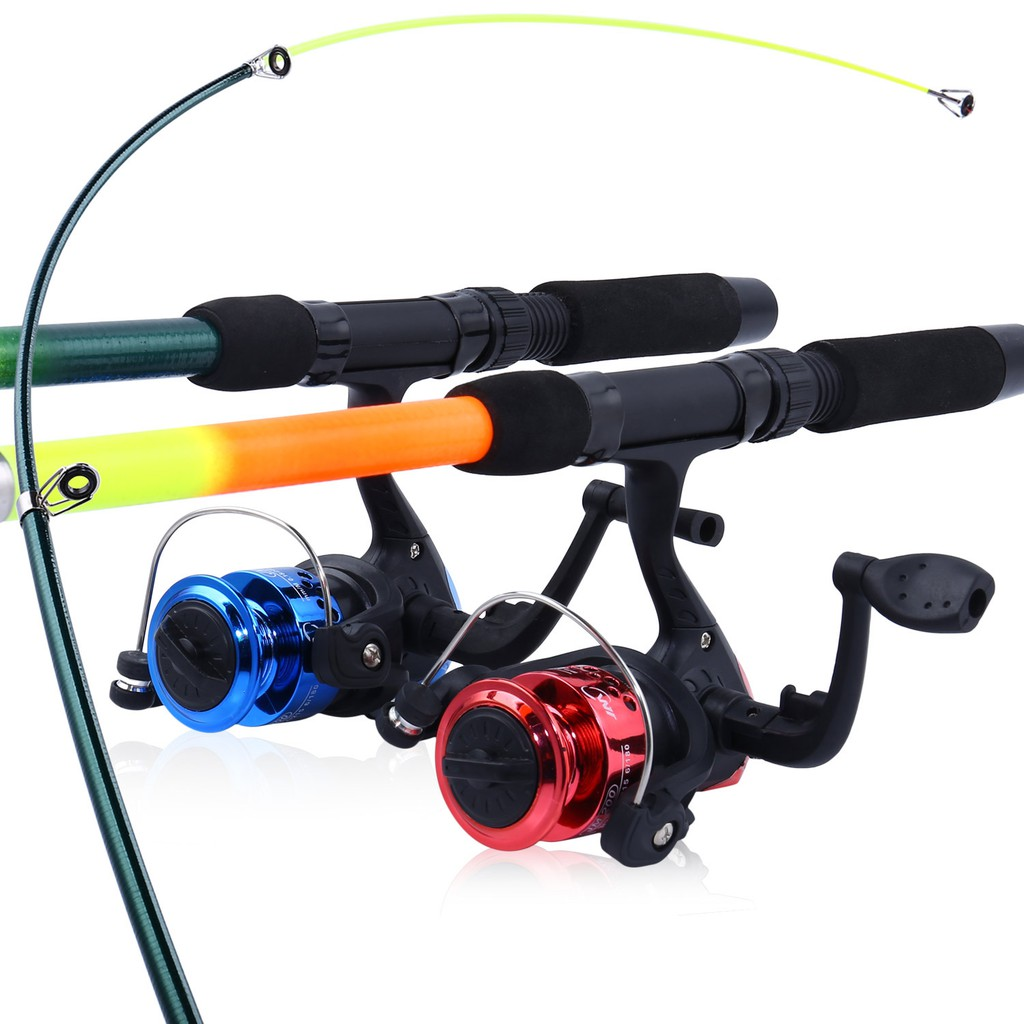FRP Fiber Retractable Telescopic Fishing Rod and Reel Glass Fiber Fishing  Pole