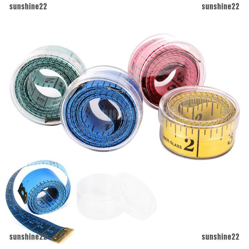Pink White Dot Tape Measure Measuring The Body Fabric Wrap Retractable Soft Measure Tape Sewing Tailor
