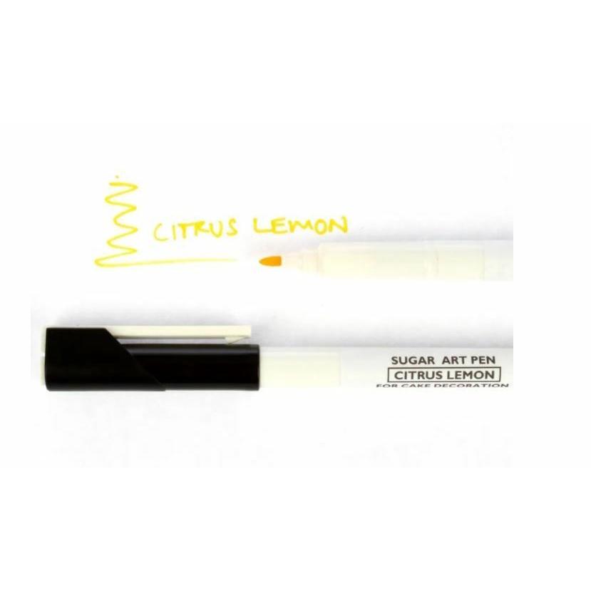 Sugarflair, Sugar Art Pen, Citrus Lemon