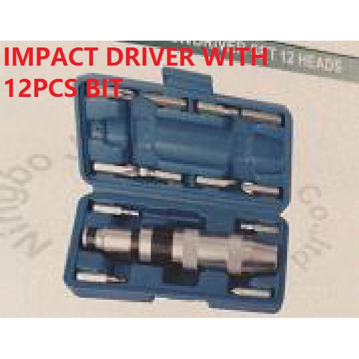13PCS JY IMPACT DRIVER SCREW ATTACK DRIVERS