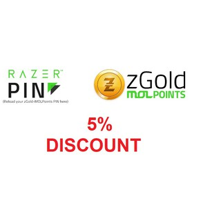 z-Gold Razer Pin/Mol Points 5% LIMITED TIME OFFER | Shopee