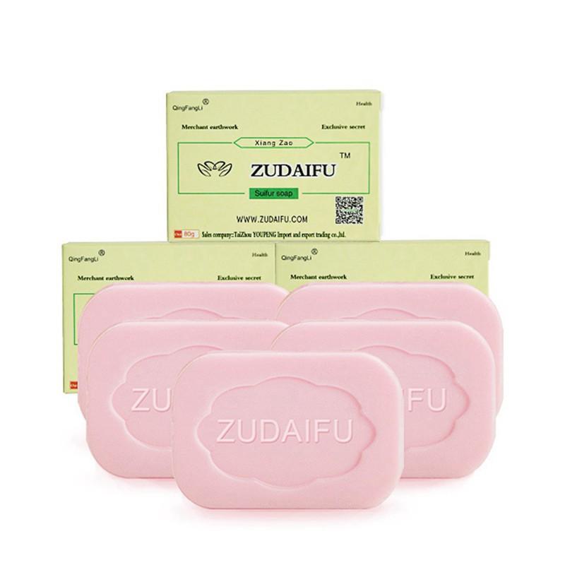 Cleansers Beauty & Health Trustful 85g Drug Bactericidal Sulphur Soap Skin Care Dermatitis Fungus Eczema Anti Bacteria Fungus Shower Bath Washing Whitening Soaps