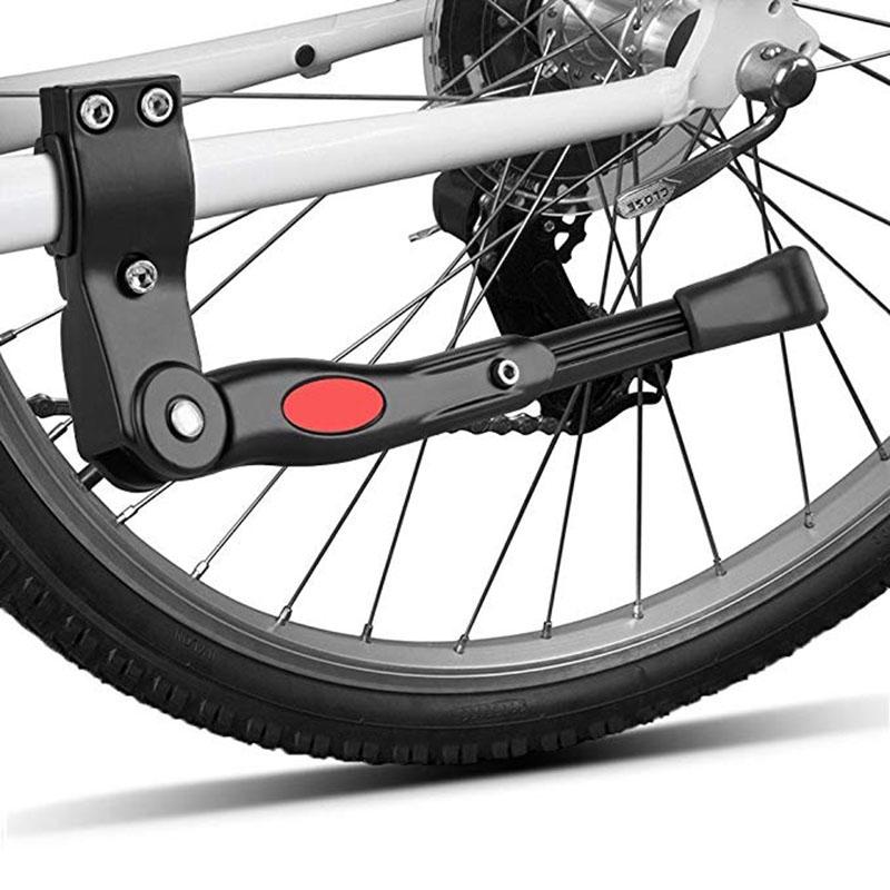 Aluminum Single Leg Bicycle Kickstand 20/'/'-26/'/' Mountain Bike Parking Rack Stand