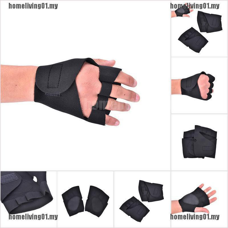 stock~Gym Body Building Training Fitness Gloves Sports Weight Lifting Workou【homeliving01.my】