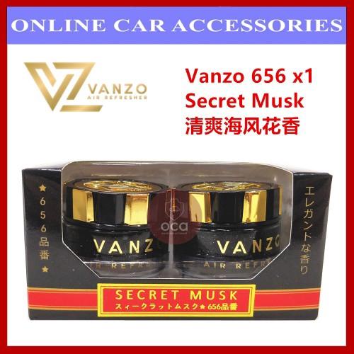 Vanzo Car Perfume Air Freshener 7 Type Flavor