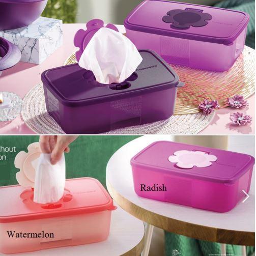 Tupperware Tissue Box