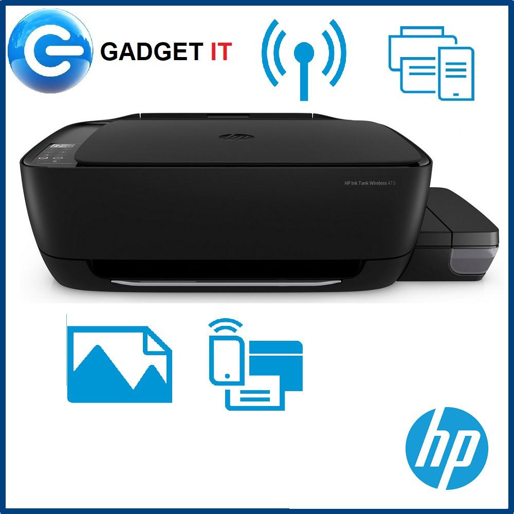 HP Deskjet 415 InkTank Wireless Color Printer FOC RM50 Watson Voucher  (Redeem)