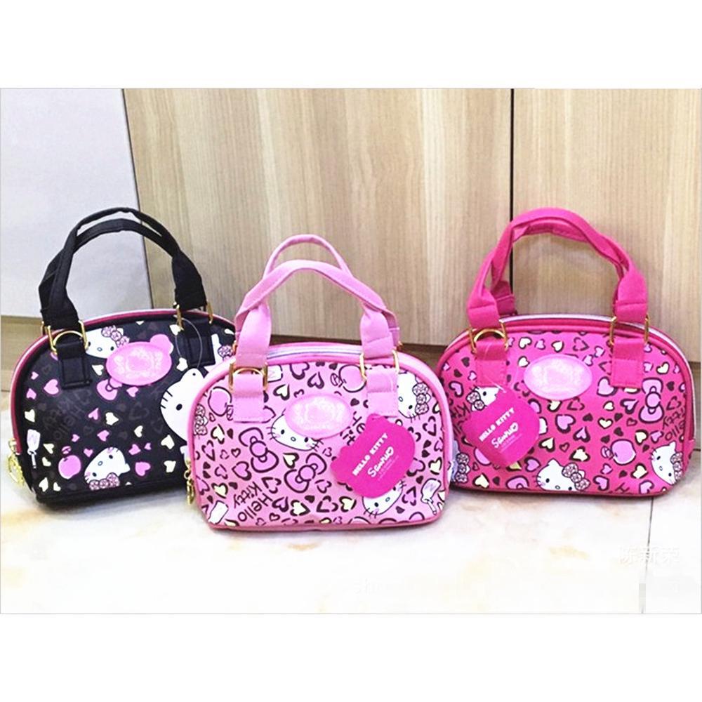 36594933a Hello Kitty sling bag women PU embroidery handbag handbag women | Shopee  Malaysia