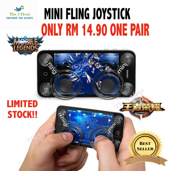 CLEARANCE Fling Mini Joystick,Controller,Gamepad Mobile Legend Joystick(Pair)   Shopee Malaysia