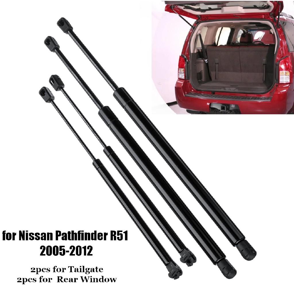2005-2012 Nissan Pathfinder Rear Tailgate Support Cylinder Lower Left Bracket OE