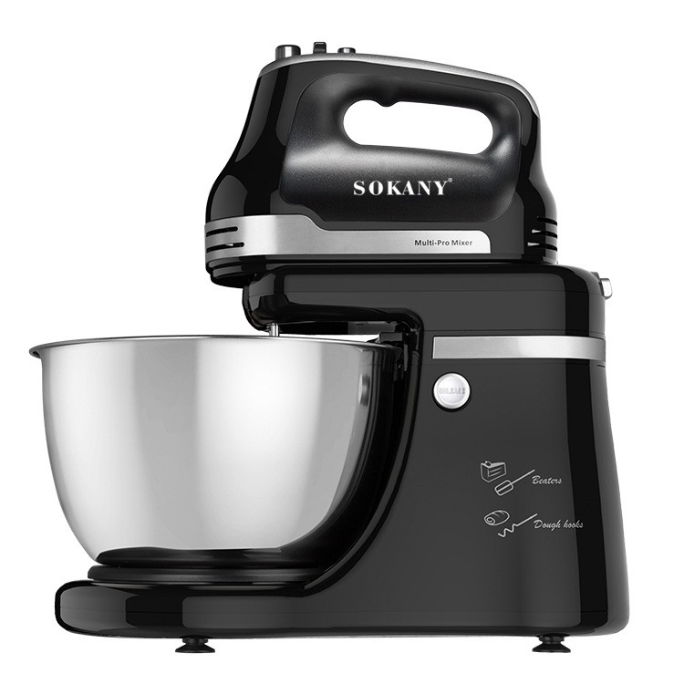🌸SOKANY🌸206/9521 Mixer Multi functional commercial chef machine household electric and noodle making machine | Shopee Malaysia