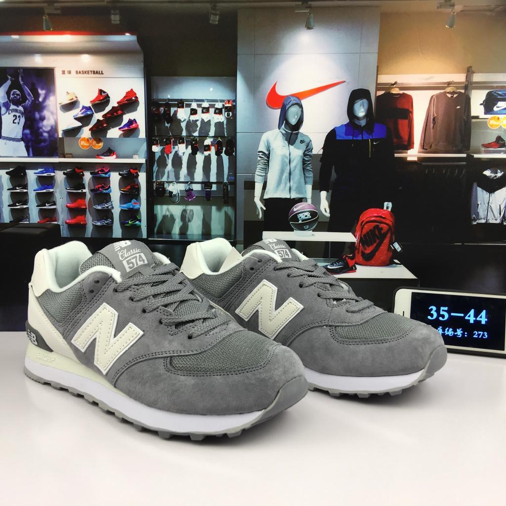 Ready Stock Original NEW BALANCE NB574 walking casual running flat shoes for womenmen