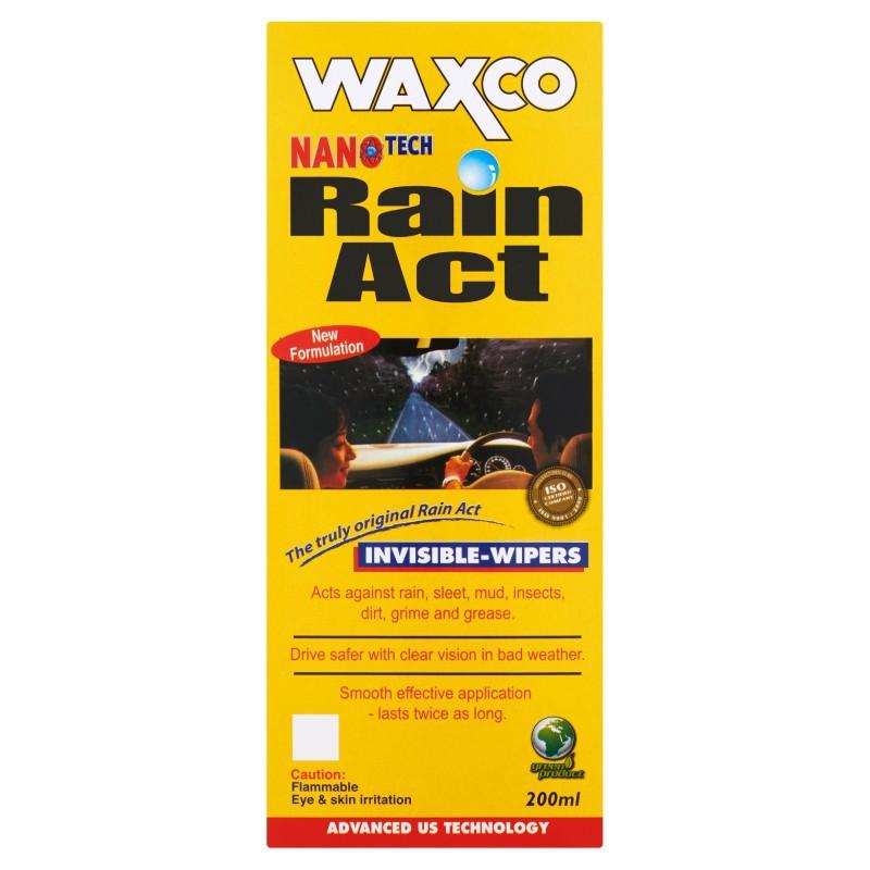 Waxco Nanotech Rain Act Invisible-Wipers (200ml)