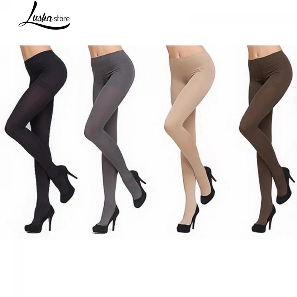 0a79956a40020 Thick Socks 150D Opaque Women Pantyhose Stockings Footed Tights | Shopee  Malaysia