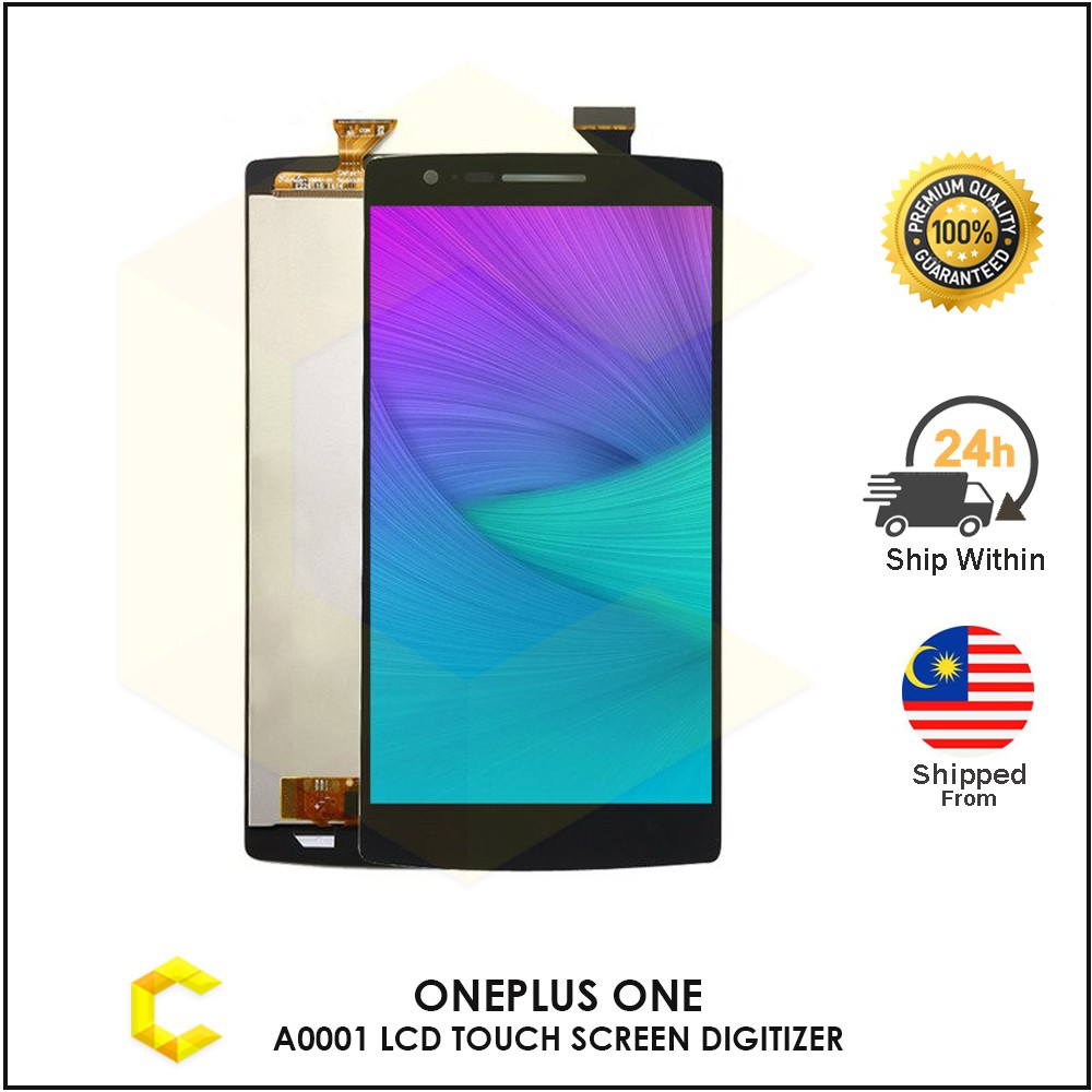 CellCare One Plus OnePlus One A0001 LCD TOUCH SCREEN DIGITIZER REPLACEMENT  PART