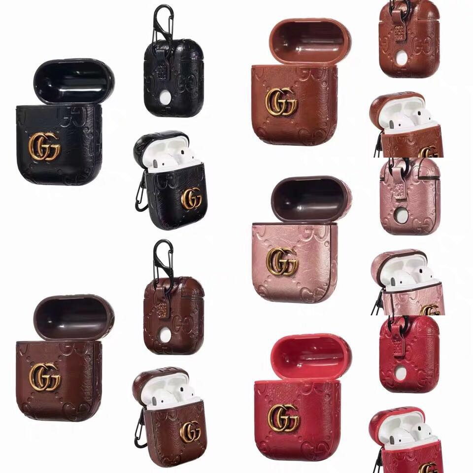 Gucci Apple Airpods 1 2 Shockproof Earphone Protective Cover
