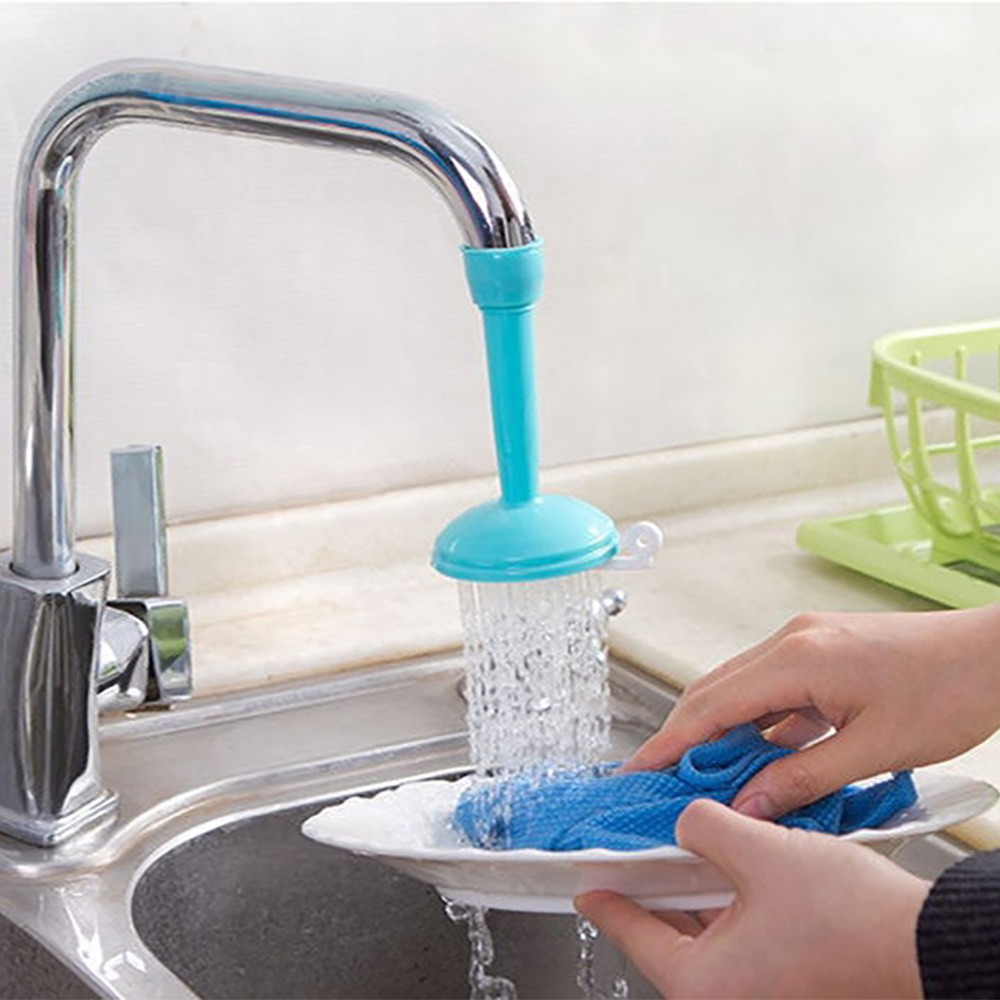 Kitchen Bath Shower Faucet Splash Filter Tap Device Head Nozzle Water-saving Hot