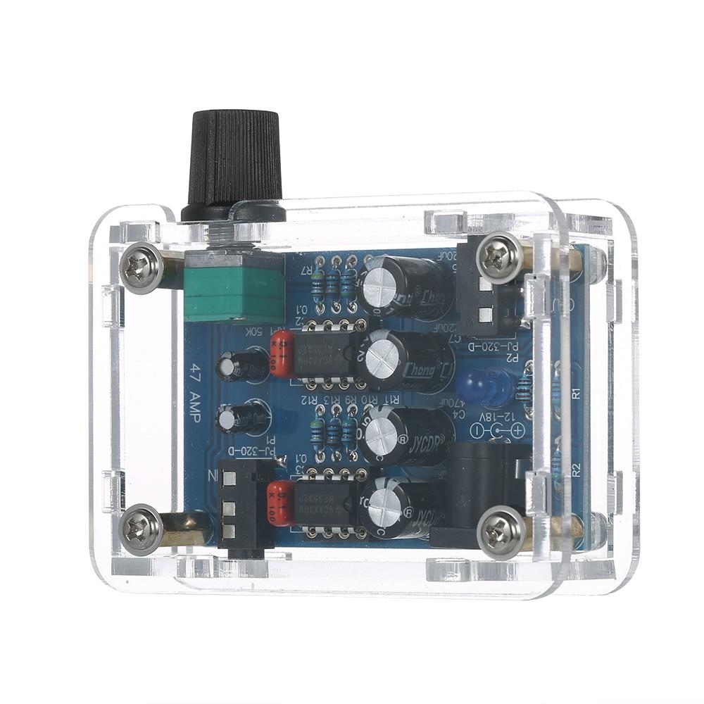 Joyday 47 Amp DIY NE5532 Hi-Fi Headphone Amplifier Kit with Transp