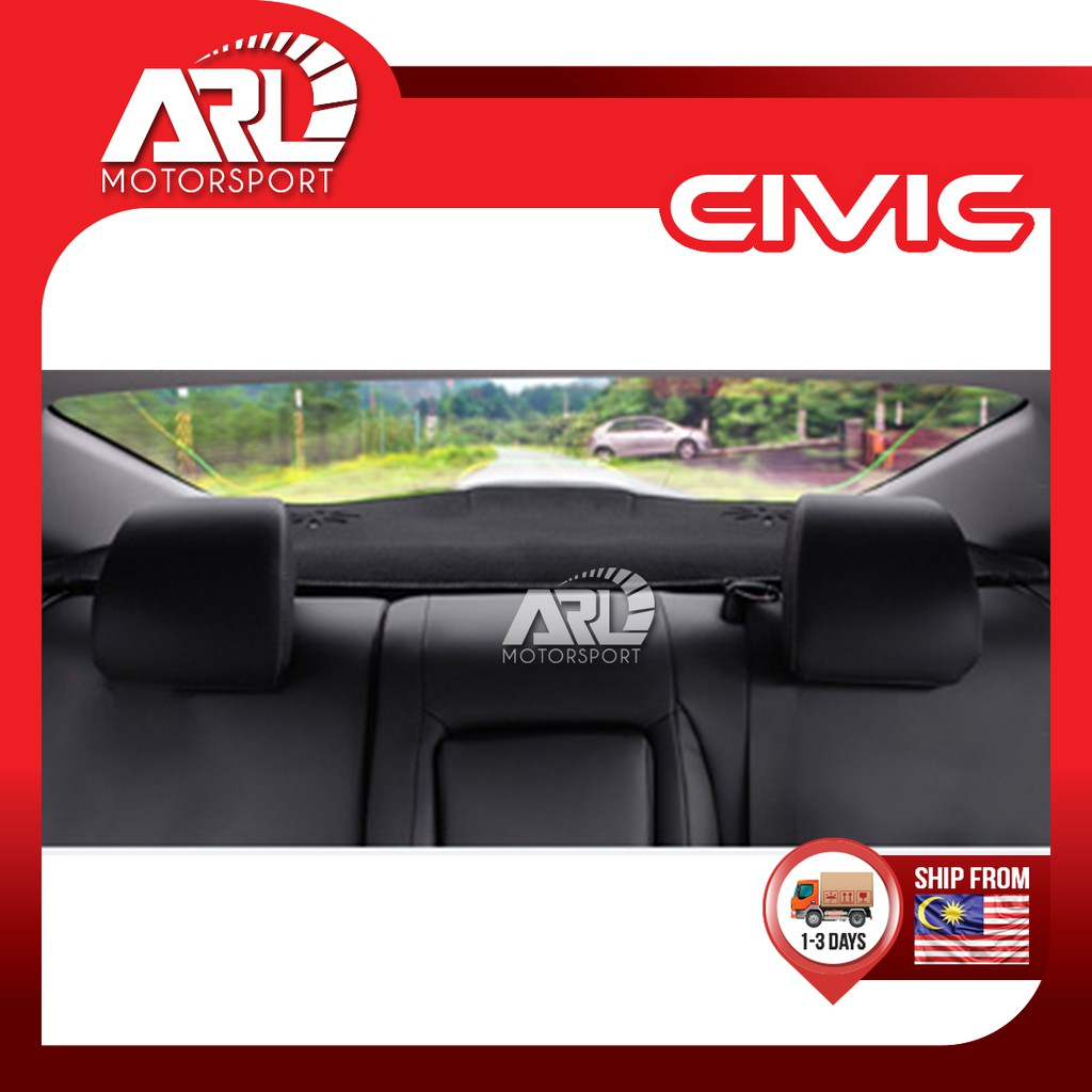 Honda Civic (2016-2020) Rear Dashboard Carpet Rear Dashboard Cover Mat Car Auto Acccessories ARL Motorsport
