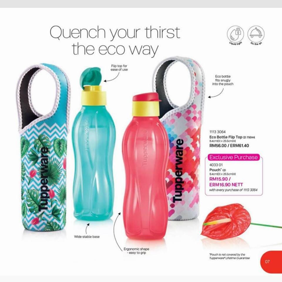 Promo Harga Tupperware Eco Brush Dan Tempat Update 2018 Bottle 2liter 1pcs Merah Atau Biru 310ml 3 Shopee Malaysia