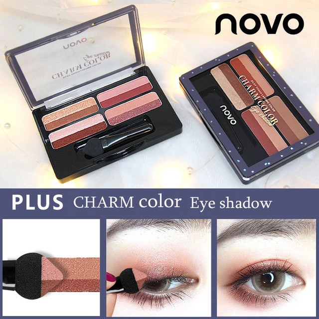 Small Magic Box Lazy Two-color Gradient Eye Shadow Seal Eye Shadow Powder Plate Gradient Beautiful Makeup Eye Shadow Tray Modern Techniques Eye Shadow Back To Search Resultsbeauty & Health