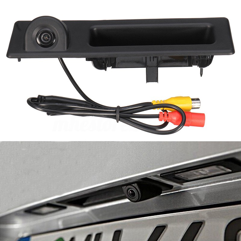 Car Trunk Reversing Handle CCD Rear View Camera for BMW 3 Series  F30/F31/F34 GT