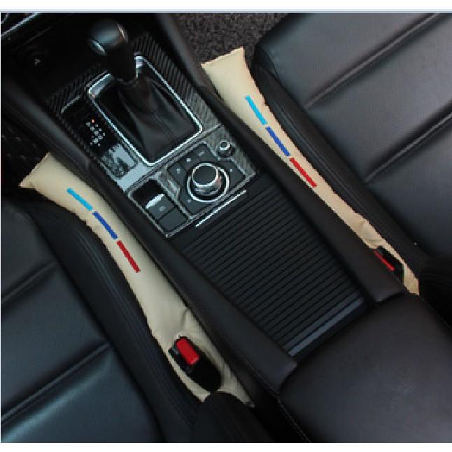 2X Car Seat Gap Stopper Leakproof Protector Fillers Spacer Filler Slot Plug BMW