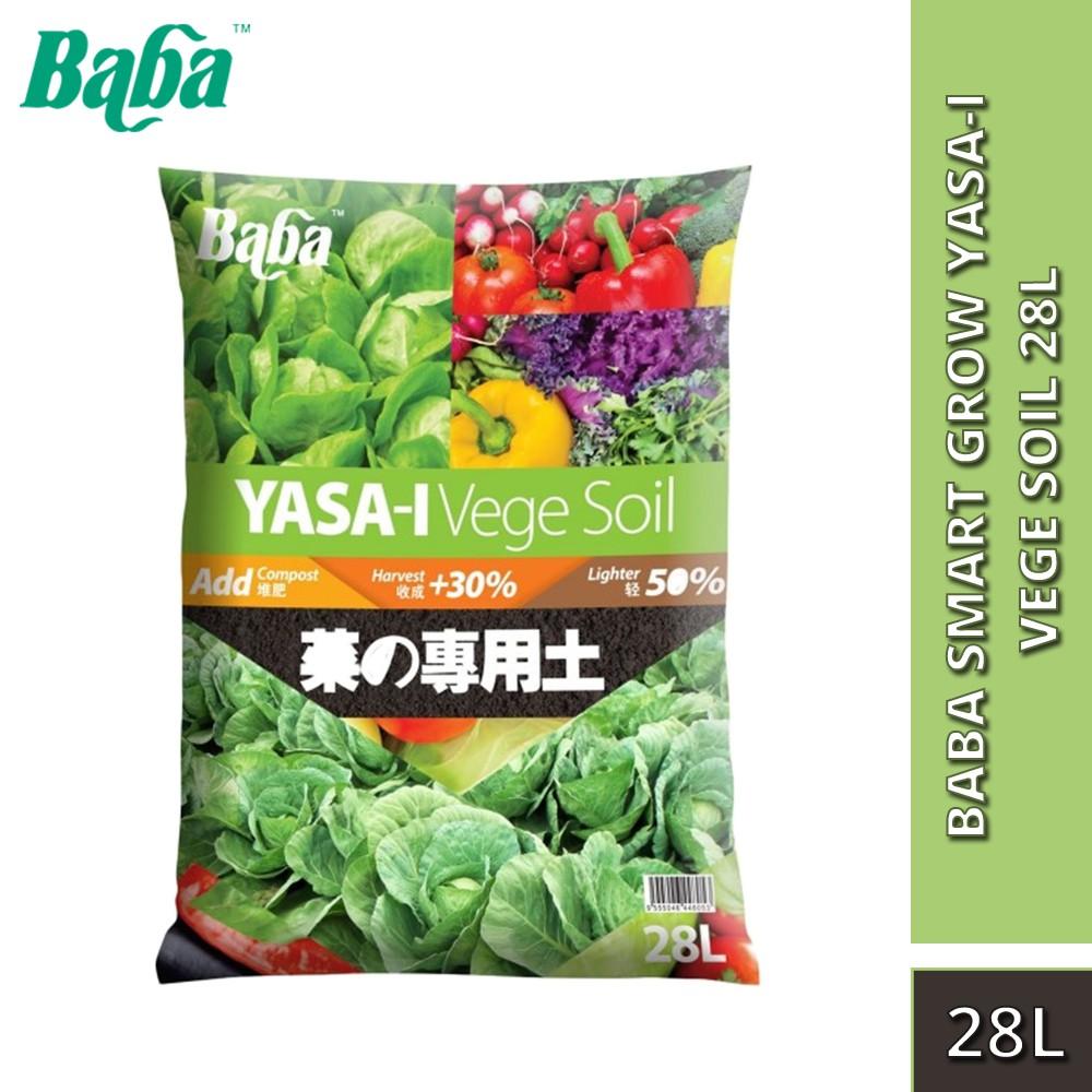 Baba Smart Grow Yasa-I Vege Soil 28L