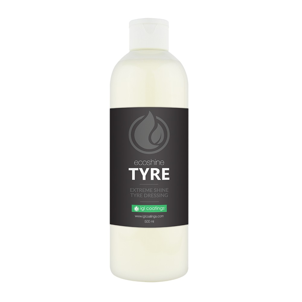 IGL Coatings Ecoshine Tyre Car Rubber Tire Protection Dressing Conditioner (500ml)