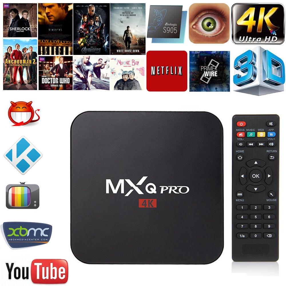 Amlogic S905W WiFi 4K TV BOX ANDROID MXQ PRO 4K Quad Core 1080P 64bit