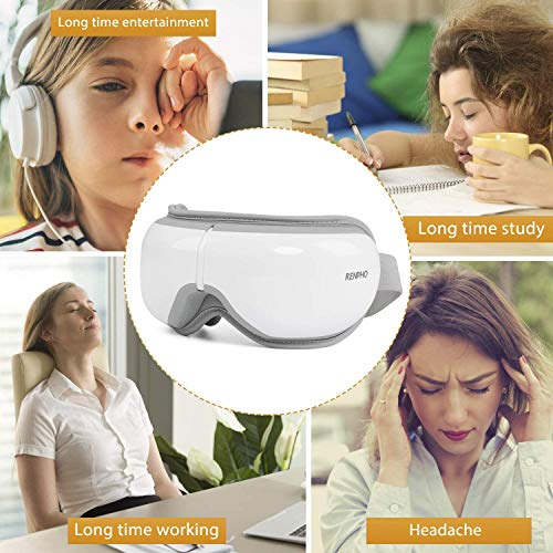 RENPHO 2.0 - Eye Massager with Remote Control & Heat, .   Shopee Malaysia